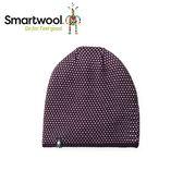【美國 SmartWool 鑽紋毛呢帽《 葡萄紫》】SW010432/保暖針織帽/毛線帽/羊毛帽