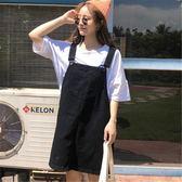 背心裙 春夏韓風chic寬鬆小清新學院風百搭中長款無袖牛仔背帶裙學生女 唯伊時尚