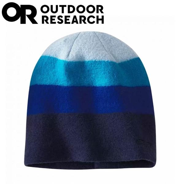 【Outdoor Research 美國 GRADIENT BEANIE羊毛透氣保暖帽《深藍》】27779/毛帽/休閒帽