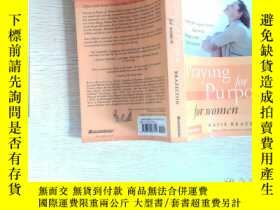 二手書博民逛書店Praying罕見For Purpose For Women`平