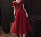 (45 Design) 長洋裝晚禮服禮服晚宴長禮服e黑色長禮服伴娘服中長禮長裙婚禮洋裝15
