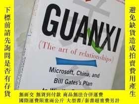 二手書博民逛書店Guanxi罕見(The Art of Relationships): Microsoft, China, and