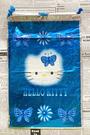 【震撼精品百貨】Hello Kitty 凱蒂貓~HELLO KITTY日本SANRIO三麗鷗KITTY縮口袋/購物袋-蝴蝶藍*72568