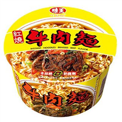 味王 紅燒牛肉麵 (碗裝)