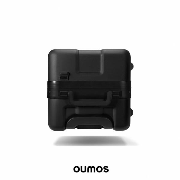 Babe OUMOS 法國旅行箱 Double Black 雙層黑 21吋