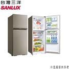 【SANLUX三洋】321L 變頻大蔬果室雙門電冰箱 SR-C321BV1B 含基本安裝 免運費