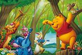 【拼圖總動員 PUZZLE STORY】維尼-森林音樂會 日本進口拼圖/Yanoman/迪士尼/99P/迷你