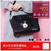 手提包-迪士尼系列人物皮革手提/側背包-共8色-A03031223-天藍小舖