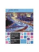 (二手原文書)Operations and Supply Chain Management (Global Edition)(14版)