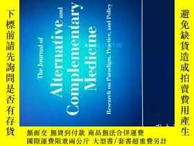 二手書博民逛書店The罕見Journal of Alternative and Complementary Medicine 12