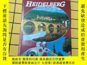二手書博民逛書店Castle罕見and City Guide Heidelber