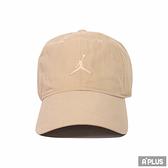 NIKE 運動帽 JORDAN H86 JM WASHED CAP 刺繡LOGO卡其-DC3673200