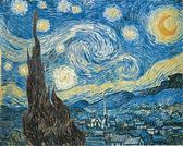 【拼圖總動員 PUZZLE STORY】Starry Night(作者:梵谷) 義大利/Clementoni/名畫/500P