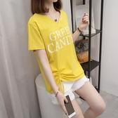 2020新款大碼女裝夏裝200斤短袖t恤女網紅胖妹妹寬鬆遮肚顯瘦上衣 童趣屋