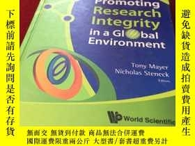 二手書博民逛書店Promoting罕見Research Integrity in a Global EnvironmentY1