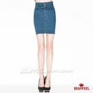 BRAPPERS 女款 新美尻 Royal 系列-高腰短裙-藍