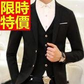 西裝外套 男西服(單外套)-質感約會必備率性潮流4色59t7[巴黎精品]