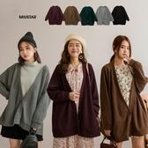 MIUSTAR 慵懶感!三釦柔軟針織外套(共5色)【NH2375】預購