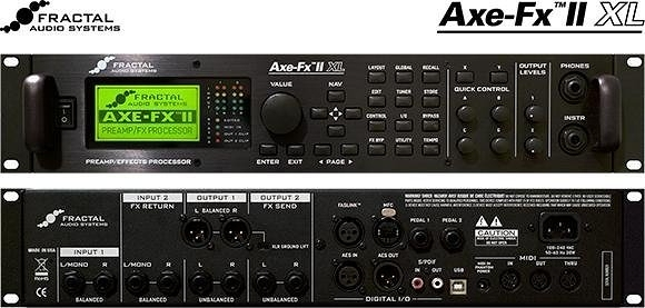 ☆唐尼樂器︵☆ Fractal Audio Axe-Fx II XL+ 超強大錄音室級電吉他綜合效果器(另有 AX8)