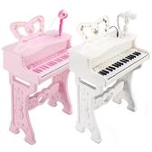 電子琴鑫樂兒童電子琴帶麥克風初學寶寶多功能鋼琴玩具禮物1-3-6-8歲 LX聖誕交換禮物