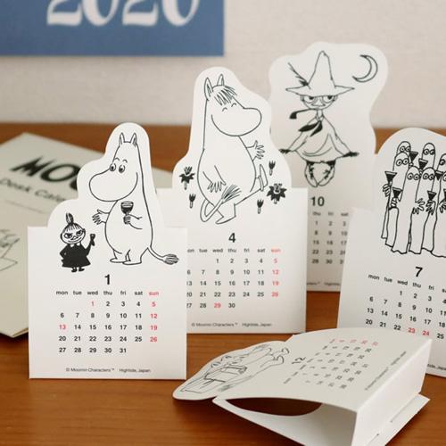 HighTide 2020可立式造型桌曆_嚕嚕米MOOMIN_HD88502
