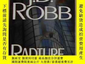 二手書博民逛書店英文原版罕見Rapture in Death by J. D.