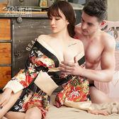 情趣內衣女性感和服透視衣服激情套裝sm騷開檔制服三點式小胸用品禮物限時八九折
