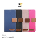 XMART OPPO Reno 5Z 斜紋休閒皮套 可立 插卡 磁扣