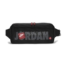 NIKE 腰包 Jordan Cross-Body Bag 黑 紅 男女款 喬丹 飛人 外出 隨身小包【ACS】 JD2113015AD-001