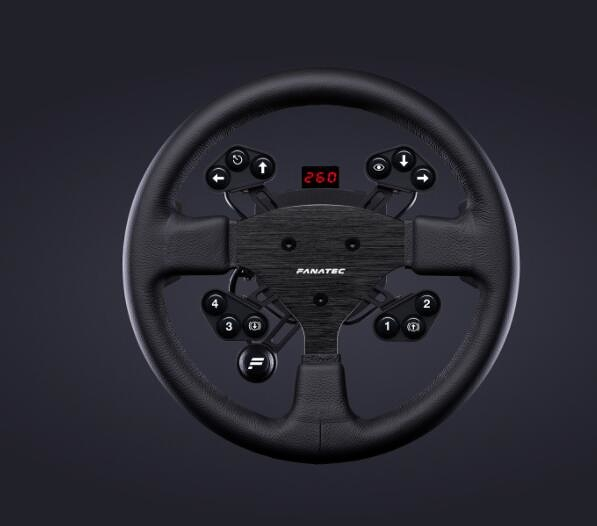 [2美國直購] fanatec 方向盤 ClubSport Steering Wheel Round 1 V2