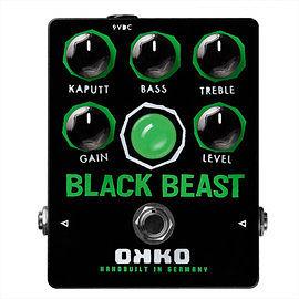 德國 OKKO Black Beast Fuzz Distortion 頂級 手工破音 效果器 總代理公司貨 保固一年