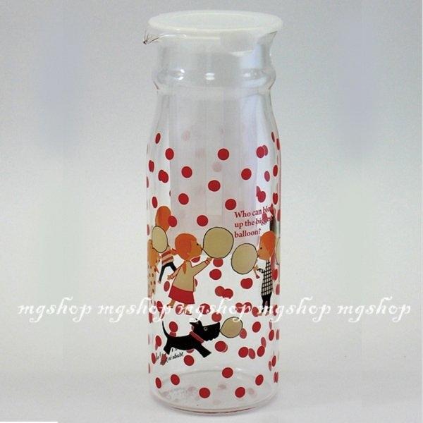 Shinzi Katoh濾網耐熱瓶/花茶瓶/咖啡瓶/熱湯瓶(L)blow吹泡泡款-日本製