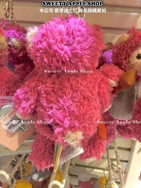 (現貨&樂園實拍) 香港迪士尼 樂園限定 DUFFY 達菲 熊抱哥造型 掛勾 鑰匙圈 吊飾玩偶娃娃