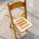 小凳子 折疊靠背椅子便攜式凳子成人小板凳家用戶外實木小凳子釣魚小椅子