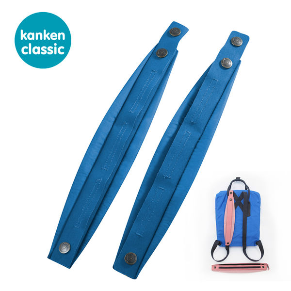 【FJALL RAVEN瑞典小狐貍包 FR 23503】 Kanken classic背包減壓肩墊 525 (聯合藍)