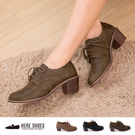[Here Shoes]3色 嚴選皮革 ...