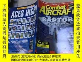二手書博民逛書店combat罕見aircraft 2008 8-9月 vol 9