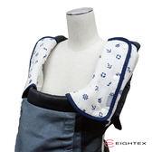 日本製Eightex L型背巾防污套2入 海洋深藍