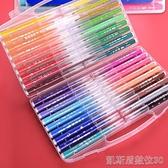 水彩筆套裝36色兒童幼兒園彩色畫筆24色小學生用繪畫筆可水洗【凱斯盾】