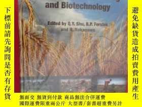 二手書博民逛書店Plant罕見Mutation Breeding and Bio