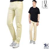 【NST Jeans】日本布料_薄春暖米色 微彈滑爽休閒男褲(歐系修身小直筒) 380(5612)