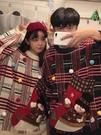 新年過年情侶裝2020新款紅色毛衣女寬鬆外穿網紅套頭慵懶風上衣 歐韓流行館
