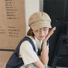 貝雷帽 八角帽女春夏款韓版時尚潮流復古貝雷帽文藝圓臉帽子學生潮休閒款