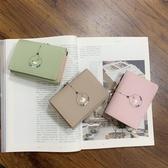 錢包女短款韓版簡約學生小錢夾新款可愛小清新迷你零錢包卡包MOON衣櫥