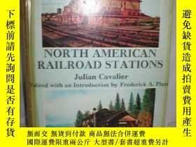二手書博民逛書店North罕見American Railroad Station