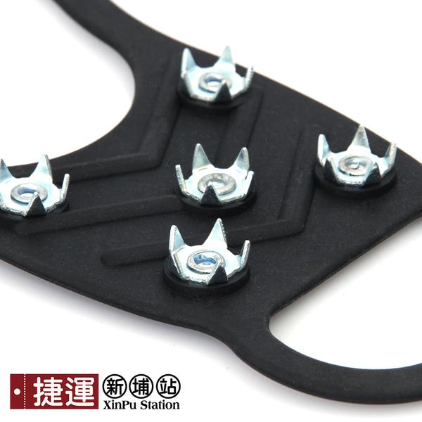 8齒雪地防滑冰爪釘鞋套