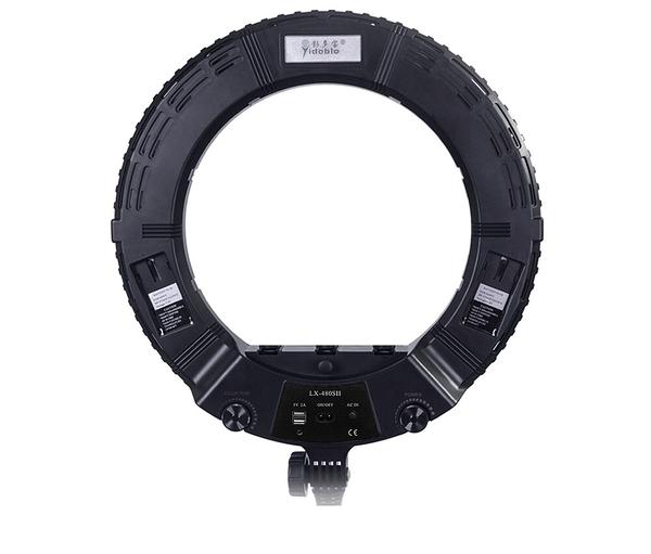 Meidike LX-480S 18吋 環形LED美光燈 3200-5500K 240顆燈珠 附遙控器 Yidoblo LX480S
