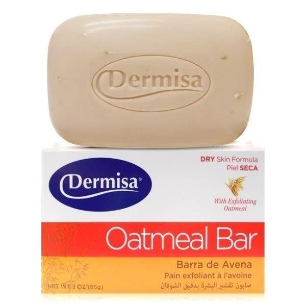 【彤彤小舖】美國品牌 Dermisa 去角質燕麥皂 3oz / 85g 舊包裝 2017年01月製造