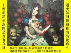 二手書博民逛書店英文原版罕見The Art of Alice Madness Returns 愛麗絲瘋狂回歸 藝術設定集Y26