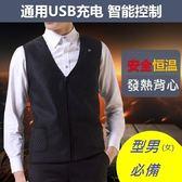 【簡約 時尚】電熱背心*三段式加熱 * 寒流必備-使用USB行動電源超方便-k8